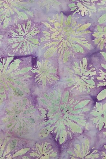 Island Batiks IMF13T-G1 Purple Floral Quilt Fabric