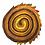 "Thumbnail: Batik ""Desert Storm"" Designer Roll - 20 x 5"" x WOF"