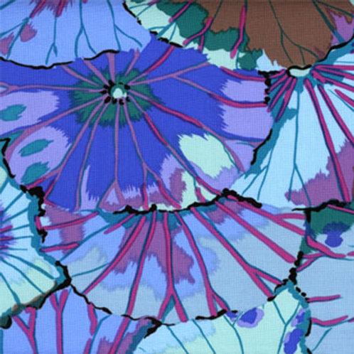 Kaffe Fassett Classics - Lotus Leaf Blue GP29 BLUE Quilt Fabric