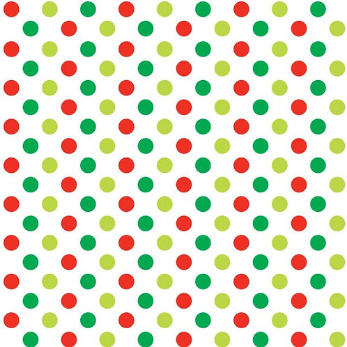 Nutex Hoots Spots Christmas Quilt Fabric 89230 Col5