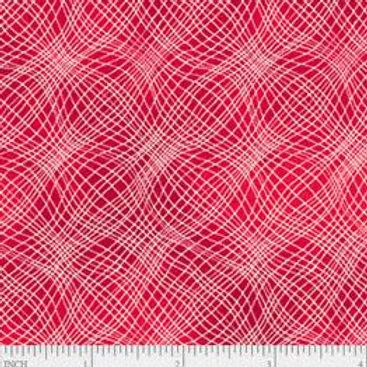 "PB Textiles ""Mesh"" Cherry Blender Quilt Fabric 4725.26703CHE1"