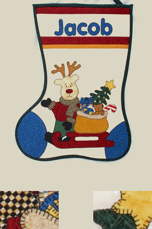 Kids Quilts 'Jacob's Stocking' Pattern