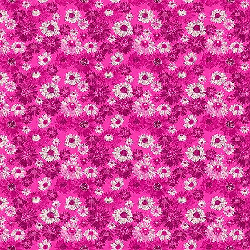 Figo Flora Pink Floral 90146-28 Quilt Fabric