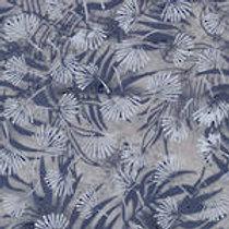 Island Batiks IKF13D-J1 Grey Flora Quilt Fabric