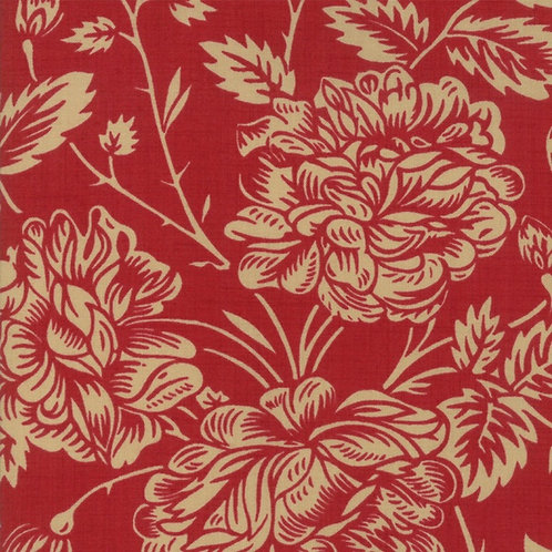 French General Je T'Aime Rouge Quilt Fabric 13521-11