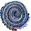 """Thumbnail: Robert Kaufman 'Painterley Park' Designer Roll - 20 x 5"""" x WOF"""