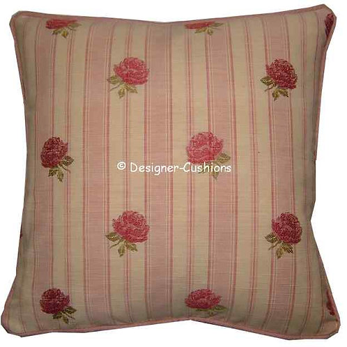Laura Ashley Clarice Chalk Pink Cushion Cover