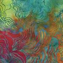 Island Batiks 121409147 Blue Bayou Quilt Fabric
