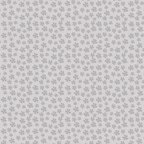 "Lynette Anderson ""Bedrock Basics"" Flowers Grey 80430 Col2 Quilt Fabric"