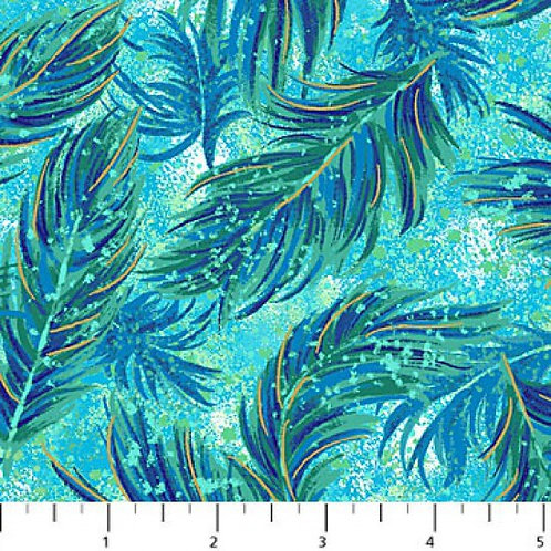Northcott Flight of Fancy Feathers Quilt Fabric Col 4