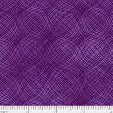 "PB Textiles ""Mesh"" Purple Blender Quilt Fabric 4725.26703PUR1"