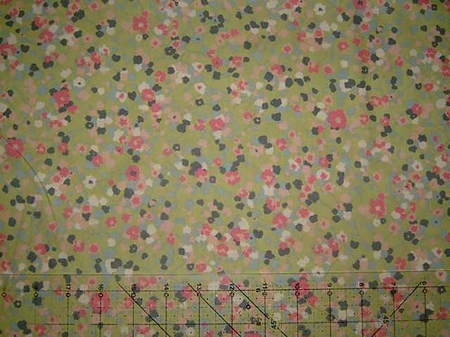 Hokkoh Covent Garden Floral Quilt Fabric Col 10