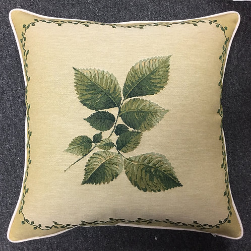 Leaf Design #3 Tapestry Cushion Cover