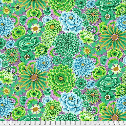 Kaffe Fassett Fall 2018 - Enchanted Garden Green PWGP172 GREEN Quilt Fabr