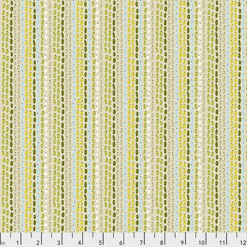 Odile Bailloeul Land Art Seeds PWOB021.CREME Quilt Fabric