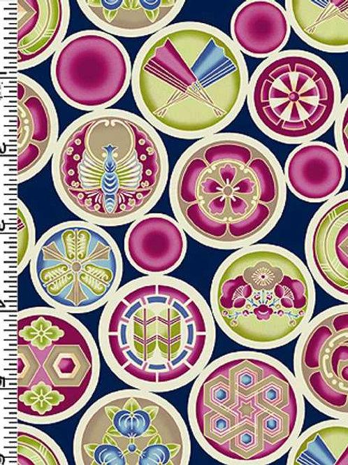 Kona Bay Geisha Dynasty GEIS-19IND Quilt Fabric