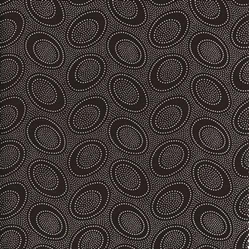 Kaffe Fassett Classics - Aboriginal Dot Chocolate GP71 CHOCO Quilt Fabric
