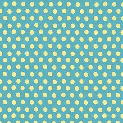 Kaffe Fassett Classics - Spot Teal GP70 TEALX Quilt Fabric