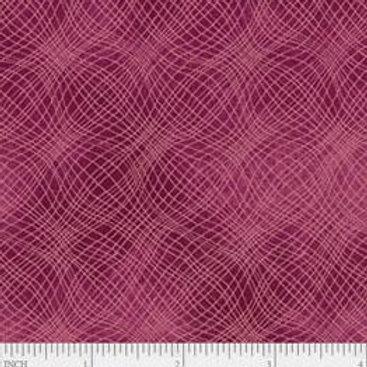 "PB Textiles ""Mesh"" Cranberry Blender Quilt Fabric 4725.26703CRA1"