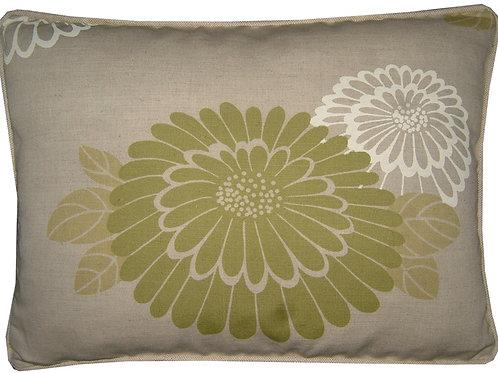 "Romo Katsura Lime 45x35cm (18x13"") Oblong Cushion Cover"