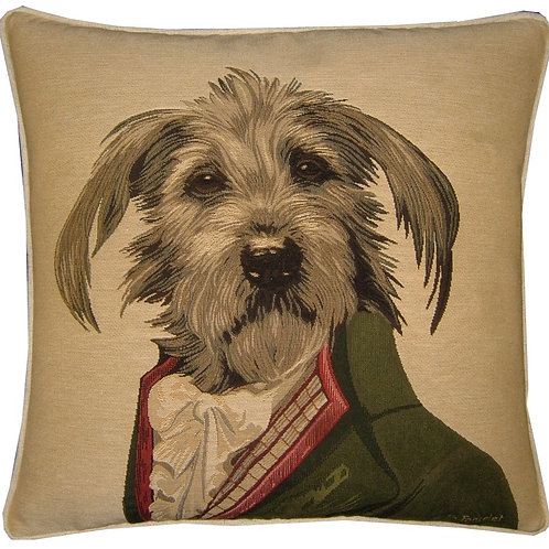 Thierry Poncelet Bassett Griffon Tapestry Cushion Cover