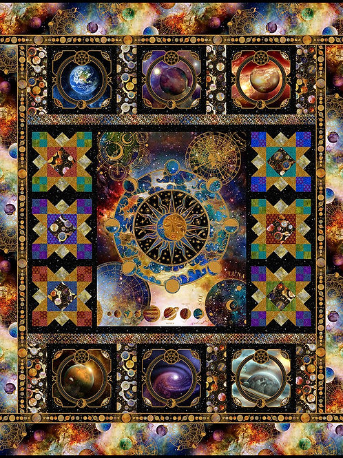 "Jason Yenter ""Cosmos"" Quilt Kit"