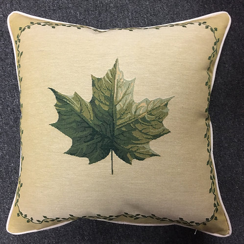 Leaf Design #1 Tapestry Cushion Cover