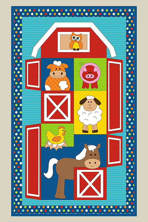 Kids Quilts 'Barn Stack' Quilt Pattern