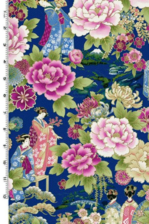 Kona Bay Geisha Dynasty GEIS-17IND Quilt Fabric