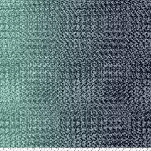 Odile Bailloeul Land Art Petit Poucet PWOB022.BLEU Quilt Fabric
