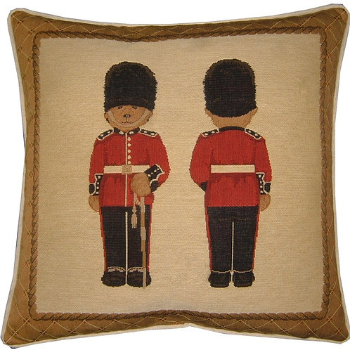 Grenedier Guard Teddy Bear Tapestry Cushion Cover