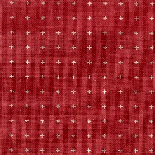 Nutex Sevenberry 'Miho' Red 69390 Col2 Quilt Fabric