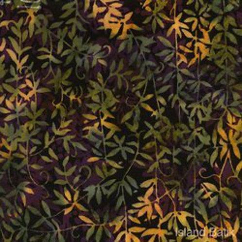 Island Batiks K108-F1 Foliage Quilt Fabric