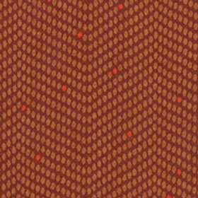 **SPECIAL** Small Chevron Dots Brown Quilt Fabric