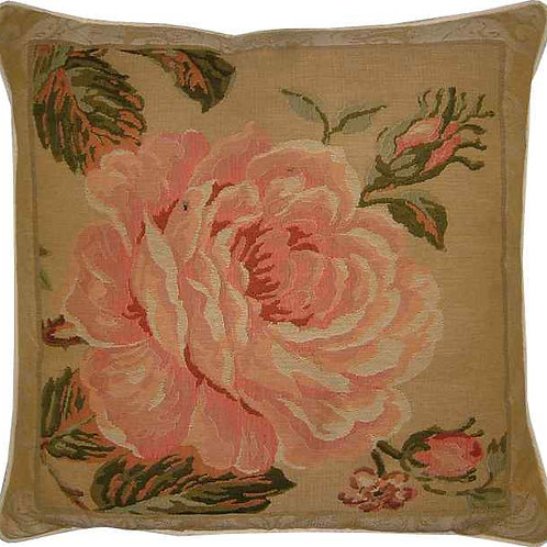 Rose Facing Right Tapestry Cushion Cover