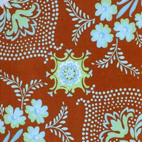 Jennifer Paganelli - PRETTY PLEASE JP12 Brown Quilt Fabric