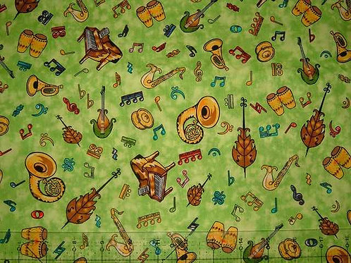 Camelot Dancing Bugs Novelty Quilt Fabric Col 5