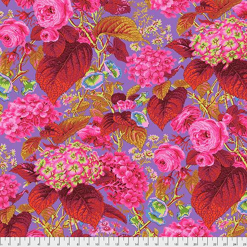 Kaffe Fassett Spring 2019 - Rose & Hydrangea Hot PWPJ097 HOT Quilt Fabric