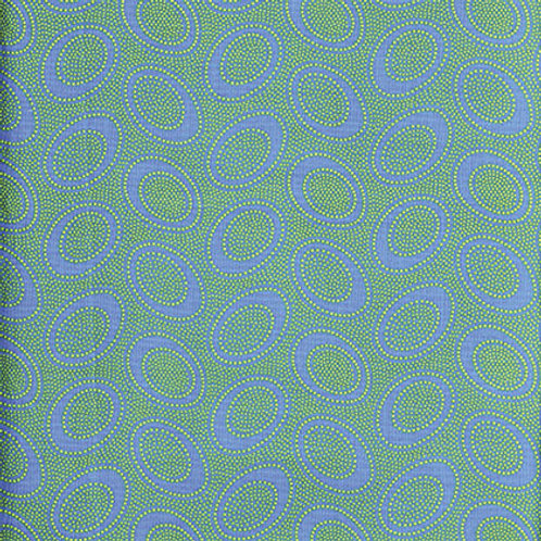 Kaffe Fassett Classics - Aboriginal Dot Ocean GP71 OCEAN Quilt Fabric