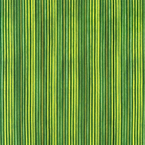 Robert Kaufman Synchronicity Stripe Grass 18694-47 Quilt Fabric