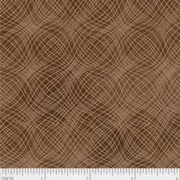 "PB Textiles ""Mesh"" Brown Blender Quilt Fabric 4725.26703BRO1"