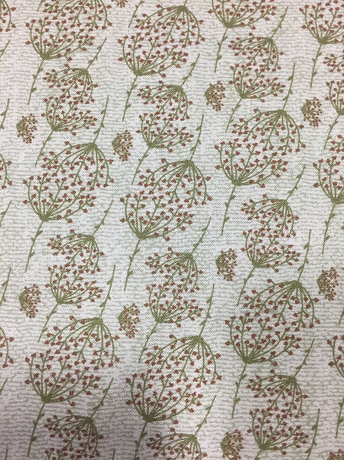 "Lynette Anderson ""Swan Cottage"" Sprig Green 80450 Col6 Quilt Fabric"