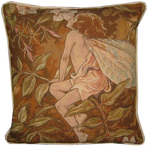 Flower Fairies Jasmine Tapestry Cushion Cover