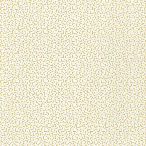 Robert Kaufman Whisper Metallics White Angles 19219-1 Quilt Fabric