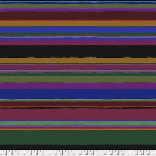 Kaffe Fassett Feb2020 - Promenade Stripe PWGP178 DARK Quilt Fabric
