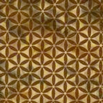 Island Batiks 611527036 Jewels & Gems Brown Circles Quilt Fabric