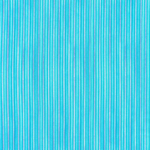 Robert Kaufman Synchronicity Stripe Breeze 18694-390 Quilt Fabric