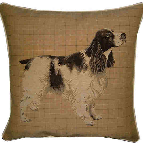 Spaniel Blue Roan Tapestry Cushion Cover