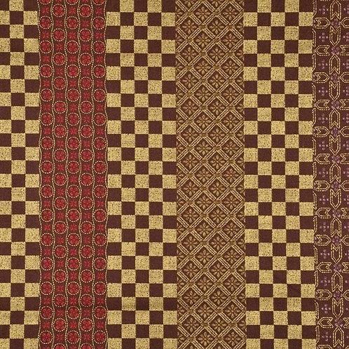 Quiltgate Hyakka Ryoran Col 21 Quilt Fabric