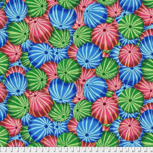 Kaffe Fassett Spring 2019 - Sea Urchins Multi PWPJ100 MULTI Quilt Fabric